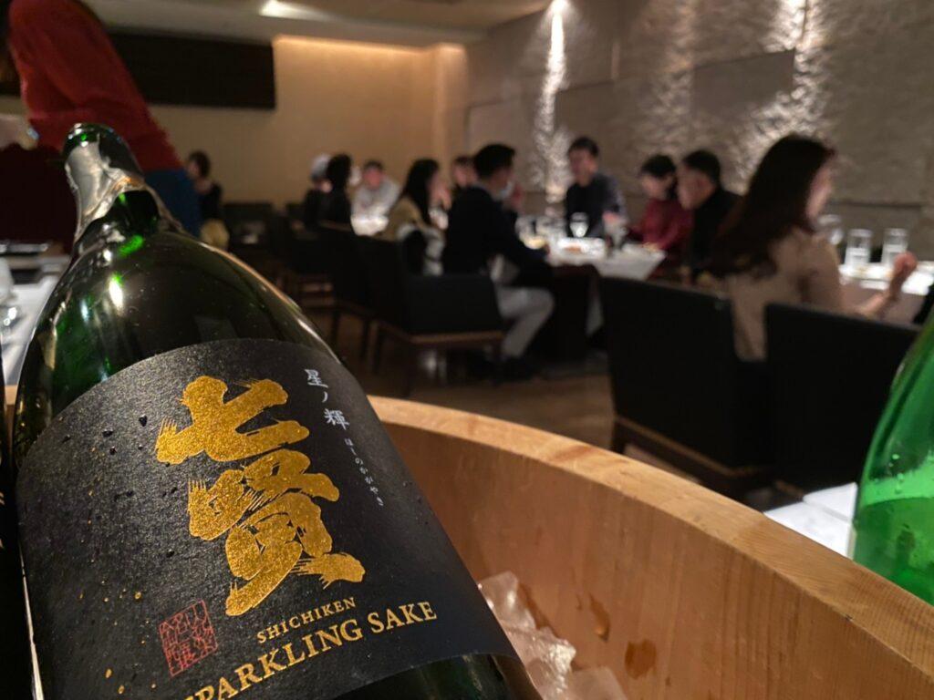東京で日本酒会開催